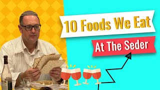 10 Foods We Eat At The Seder | Pesach Facts|Passover Facts