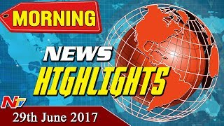 Morning News Highlights || 29th June 2017
