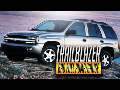 2007 Chevy Trailblazer Fuel Pump Gas Tank Remove Replace