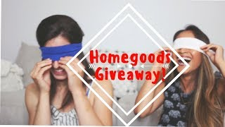 HOMEGOODS GIVEAWAY! l Shopping Blindfolded l Lifestyle Haul