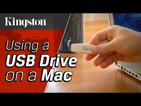 Using a USB Drive on a Mac