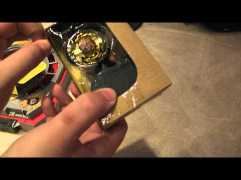 Beyblade Metal Masters: Portable Beystadium #2 + Rock Zurafa R145WB Unboxing/ Review & Battle!