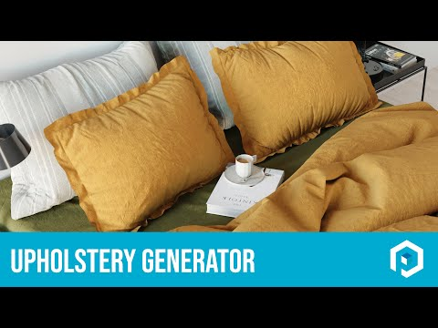 How to use the Upholstery Generator