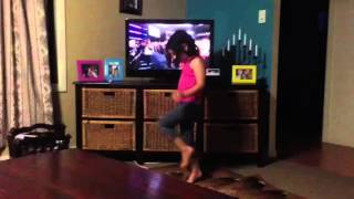 Mellodee dancing to Whitney