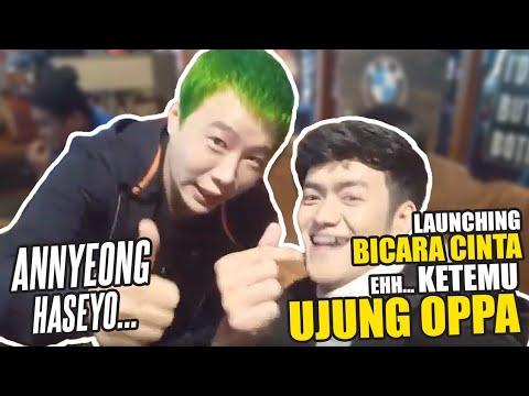 Download Launching BICARA CINTA - ketemu oppa beneran dari KOREA Mp4 baru