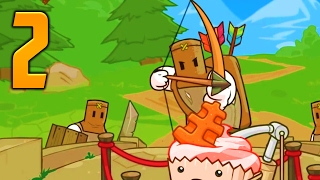 "Pit People Gameplay Walkthrough - Part 2 ""MAGICAL CUPCAKES"" (Let's Play/Playthrough)"
