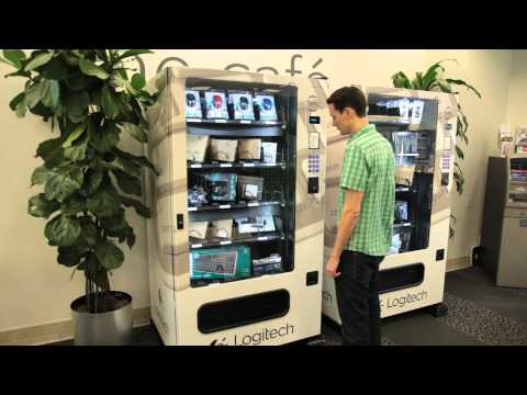 Logitech IT vending machines
