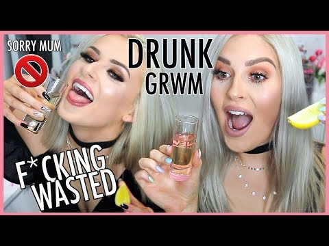 DRUNK AF GRWM & Sally Jo 🍸😱 Feat. Terrible Singing & Dancing