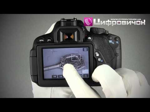 Видео как снимать видео на Canon 650D