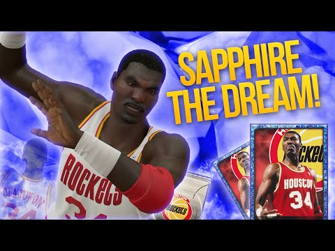 NBA 2K15 My Team SAPPHIRE HAKEEM THE DREAM! BEST STARTING CENTER?