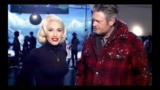 Gwen Stefani You Make It Feel Like Christmas Ft Blake Shelton Behind The Scenes