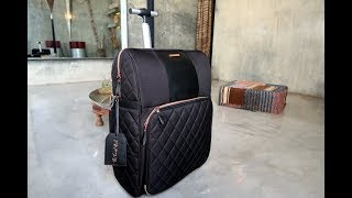 The Travel Hack Pro Cabin Case Review by Taylor Hearts Travel