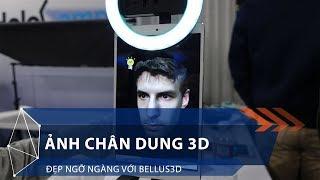 Ảnh chân dung 3D đẹp ngỡ ngàng với Bellus3D | VTC1