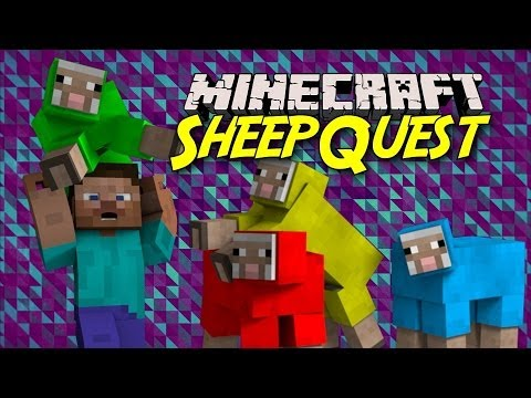 Minecraft Minigame: Sheep Quest!