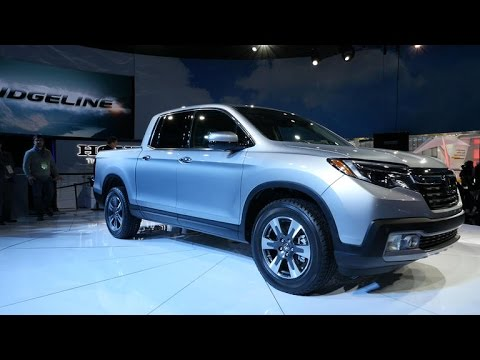 Honda brings back the Ridgeline at the North American International Auto Show
