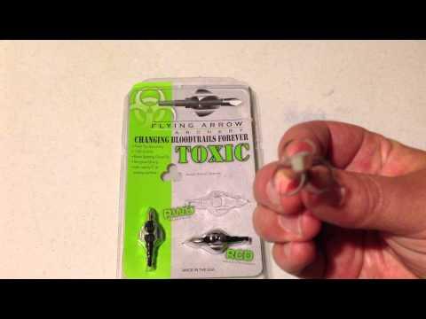 Flying Arrow Archery - Toxic Broadhead