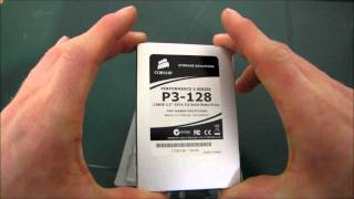 Corsair P3-128 128GB SATA3 6Gb/s Performance SSD Unboxing & First Look Linus Tech Tips