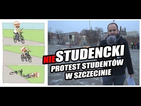 """Oj, KOD Spadł Z Rowerka. Protest """"studentów"""" W Szczecinie Całkowitą Klapą!"""