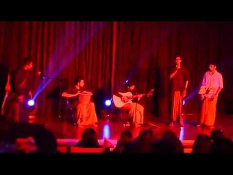 Singing Sri Lankan