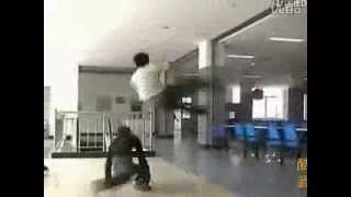 Fight in a Chinese Martial Art School