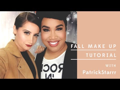 Fall Makeup Tutorial ft. PatrickStarrr | Ashley Tisdale