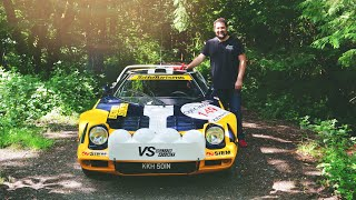 My Friend Phil Bought A Lancia Stratos Rally Car!