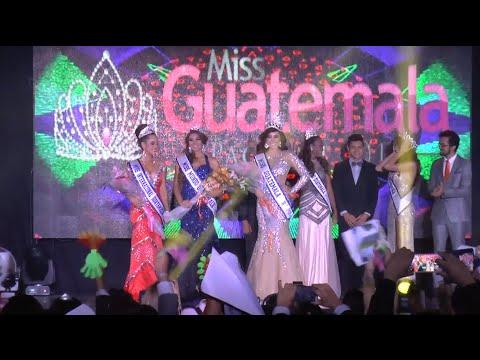 Jeimmy Aburto fue coronada como la nueva Miss Guatemala 2015