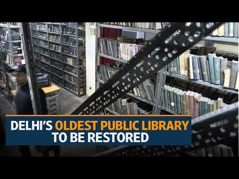 Conserving Delhi's oldest public library