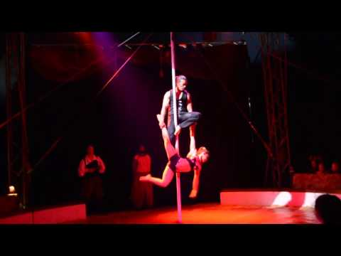 Pole act , # 1278 , represented by  Stefani Art Agency
