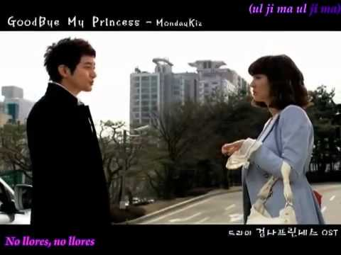 Monday Kiz   Goodbye My Princess Prosecutor Princess Ost Español video