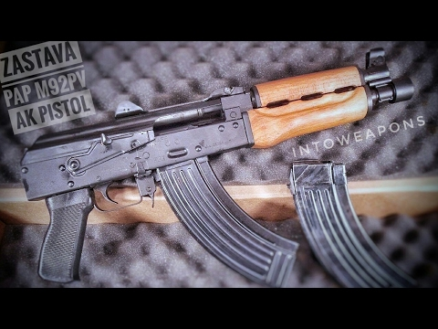 Zastava PAP M92 PV Pistol Unboxing