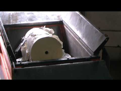 Metso Denmark M&J 4000 M Shredding Paper Rolls Part 1