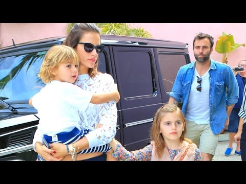 Alessandra Ambrosio And Family Get Quality Time
