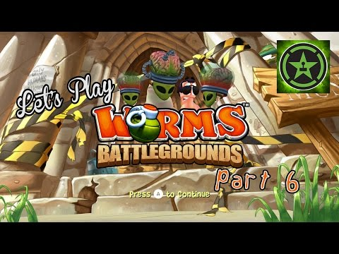 Lets Play Worms Battlegrounds Part 6