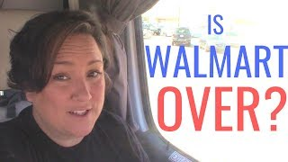 Is WALMART RV PARKING Over? Why are Walmarts turning away...