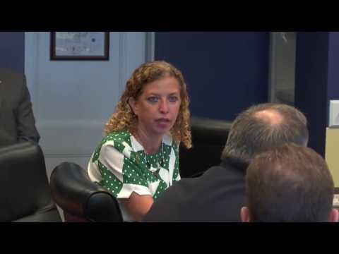 CORRUPT Debbie Wasserman Schultz THREATENS Police Chief