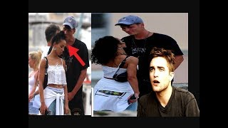FKA Twigs with her new boyfriend after split with Robert Pattinson ?