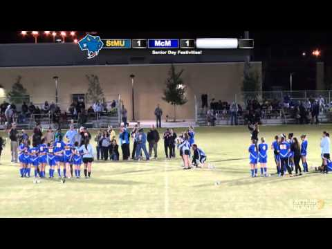 Replay: StMU Women's Soccer vs. McMurry (Part 1)