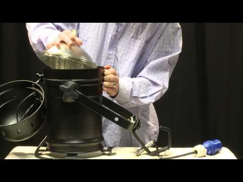 Comment changer l'ampoule d'un PAR64