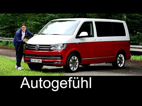 VW Multivan T6 Generation Six FULL REVIEW Volkswagen Bulli - Autogefühl