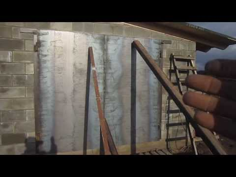 Варим гаражные ворота видео