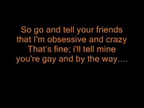 Taylor Swift - pictures to burn (lyrics) (Original)