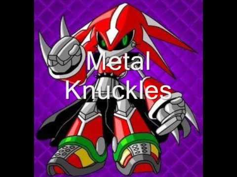 Todos Los Personajes De Sonic Y Los Enemigos Poderosos Kunasgii