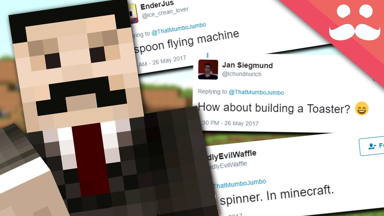 I Build your SILLY REDSTONE IDEAS! #5