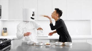 Marshmello James Charles Have A Cake Decorating Contest Cooking With Marshmello