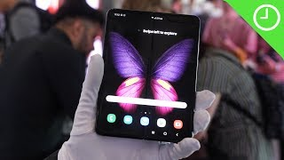 Samsung Galaxy Fold: A little unfinished?