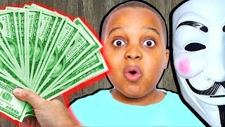 GIVING AWAY $300! (Finding A Secret Code Hidden By Clue Master in Real Life) - Onyx Family