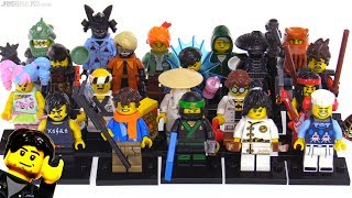 LEGO Ninjago Movie Collectible Minifig Series reviewed! All 20
