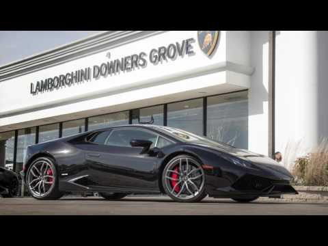 Lamborghini Huracan BREAKTHROUGH LEASE - Downers Grove, Illinois.