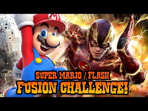 Super Mario + The Flash Fusion Challenge (Step by Step Tutorial)